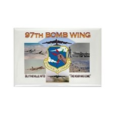97th BMW Blytheville AFB Rectangle Magnet