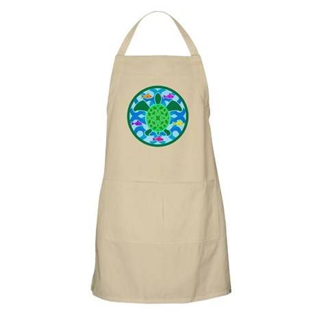 Green Sea Turtle BBQ Apron
