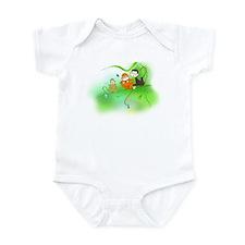 Cute Monkey trio Infant Bodysuit