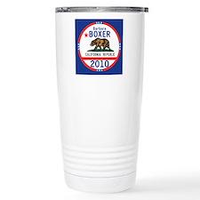 Barbara Boxer Travel Mug