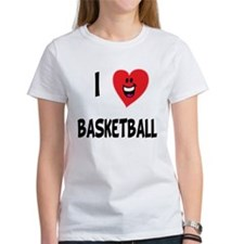 I Love Basketball Tee