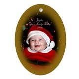 Cute Jayda Oval Ornament