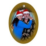 Family Christmas Oval Ornament
