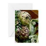 Artichokes Greeting Cards (Pk of 20)