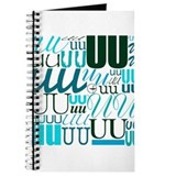 UU Typography (Aqua) Journal