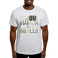 UU Typography (Sage) T-Shirt
