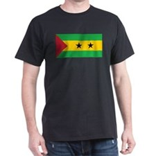 Sao Tomé and Príncipe Flag T-Shirt