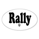 Rally Oval Decal