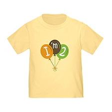 2nd Birthday Balloons T