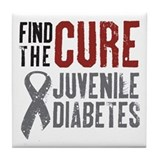 Find The Cure Tile Coaster
