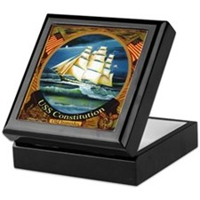 Navy Gentleman's Keepsake Box