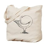 Holle Cropper Pigeon Tote Bag
