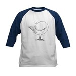 Holle Cropper Pigeon Kids Baseball Jersey