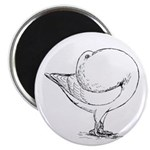 "Holle Cropper Pigeon 2.25"" Magnet (100 pack)"