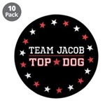 "Team Jacob Top Dog 3.5"" Button (10 pack)"