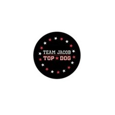 Team Jacob Top Dog Mini Button (100 pack)
