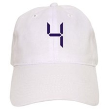 Number - Four - 4 Baseball Cap