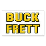 Buck Frett Rectangle Sticker 50 pk)