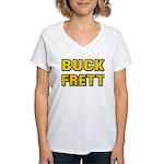 Buck Frett Women's V-Neck T-Shirt