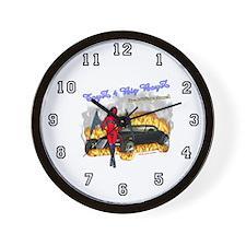 Wall Clock Toyz 4 Big Boyz DrakWing Angel