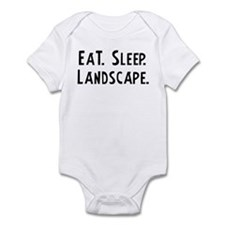 Eat, Sleep, Landscape Infant Creeper
