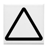 Triangle Tile Coaster