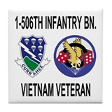 1-506th Infantry Vietnam Tile Coaster 1