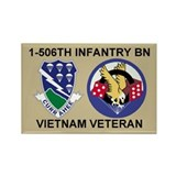 1-506th Infantry Vietnam Magnet 1