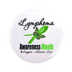 "Lymphoma Awareness Month v2 3.5"" Button (100 pack)"