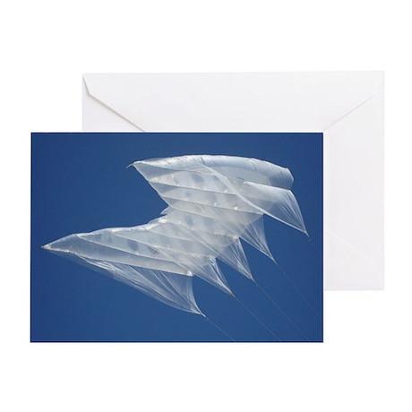 White Sutton Greeting Card