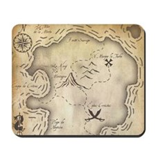 Pirate Map Mousepad