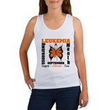 Leukemia Month Butterfly Women's Tank Top