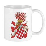 Croatia Coat of Arms (1800's) Small Mug