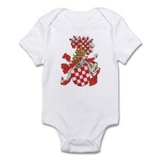 Croatia Coat of Arms (1800's) Infant Bodysuit