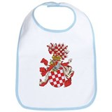 Croatia Coat of Arms (1800's) Bib