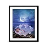 Sleeping Mermaid : Framed Panel Print