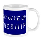 Don't Give Up The Ship Flag Small Mug