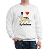 I Love Thylacines Sweatshirt
