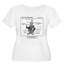 Life in the Mountains #4 Women's Plus Size T-Shirt
