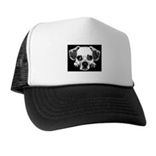 Black & Black Puggle Trucker Hat