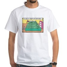 cat map of bed T-Shirt