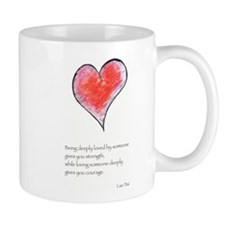 Love Deeply Small Mug