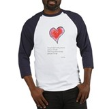 Love Deeply Baseball Jersey