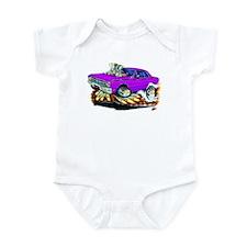 Dodge Dart Purple Car Infant Bodysuit