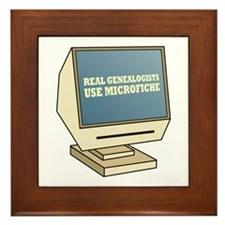 Use Microfiche Framed Tile