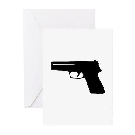 Gun Greeting Cards (Pk of 10)