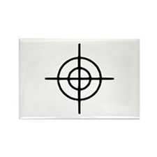 Crosshairs - Gun Rectangle Magnet (10 pack)