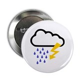 "Thunderstorm - Weather 2.25"" Button"