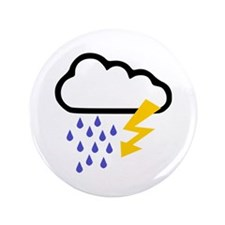 "Thunderstorm - Weather 3.5"" Button"