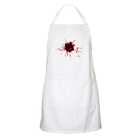 Rock Horns BBQ Apron